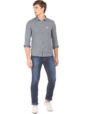 U.S. Polo Assn. Denim Co. Acid Wash Skinny Fit Jeans