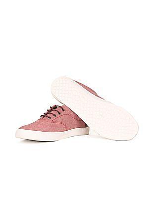 U.S. Polo Assn. Denim Co. Contrast Trim Canvas Sneakers
