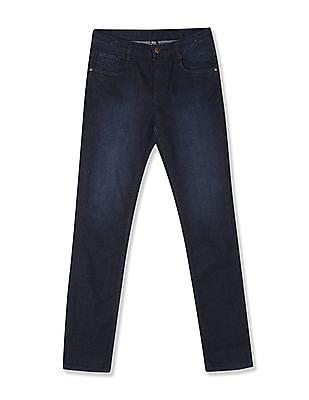 FM Boys Blue Boys Skinny Fit Dark Wash Jeans