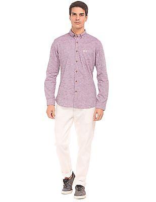 U.S. Polo Assn. Denim Co. Button Down Striped Shirt