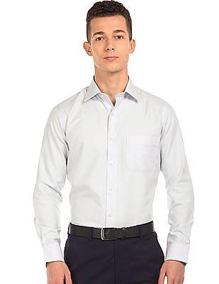 Arrow Regular Fit Dot Pattern Shirt