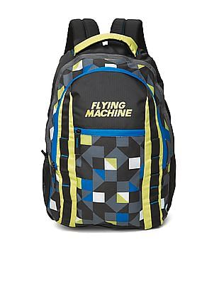 Flying Machine Printed Laptop Backpack