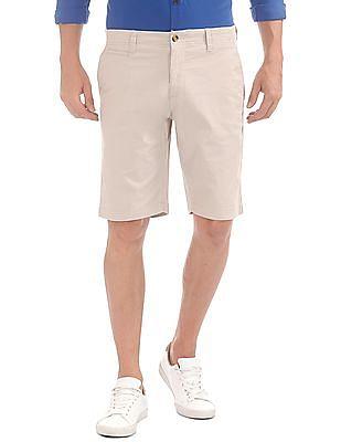 U.S. Polo Assn. Slim Fit Cotton Lycra Shorts