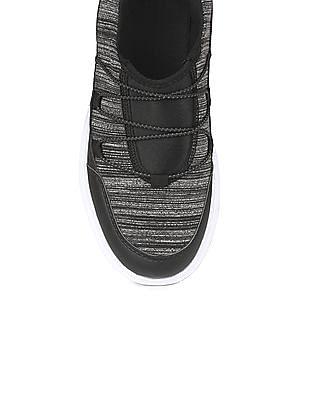 SUGR Heathered Panel Slip On Shoes