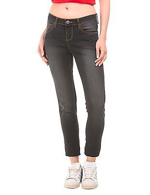 Newport Mid Rise Stone Washed Jeans