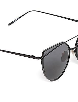 Flying Machine Black Polarized Sunglasses