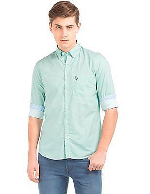 U.S. Polo Assn. Star Print Button Down Shirt