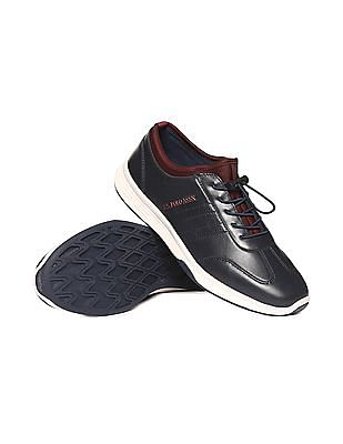 U.S. Polo Assn. Contrast Trim Lace Up Sneakers
