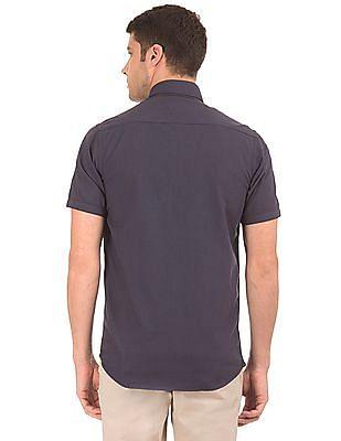 Arrow Sports Regular Fit Patterned Weave Shirt