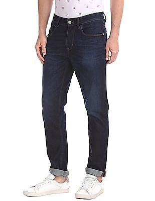 U.S. Polo Assn. Denim Co. Slim Fit Rinse Wash Jeans