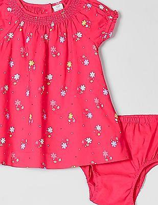 GAP Baby Floral Smocked Dress
