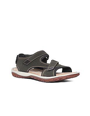Ruggers Open Toe Cross Strap Sandals