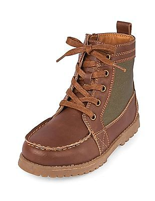 The Children's Place Boys Hi-Top Kingston Boot