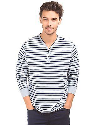Nautica Long Sleeve Striped T-Shirt