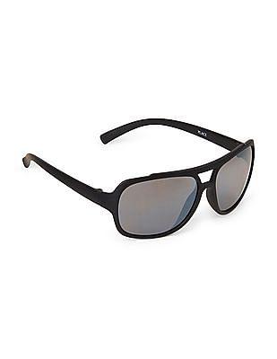 The Children's Place Boys Rubber Aviator Sunglasses