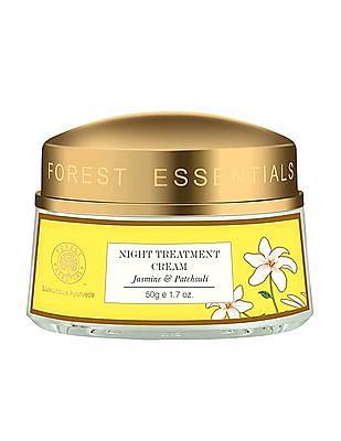 Forest Essentials Jasmine & Patchouli Night Treatment Cream (50gm)