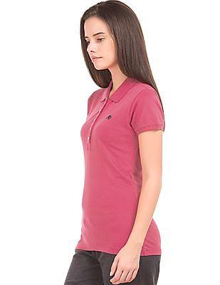 Aeropostale Pique Regular Fit Polo Shirt