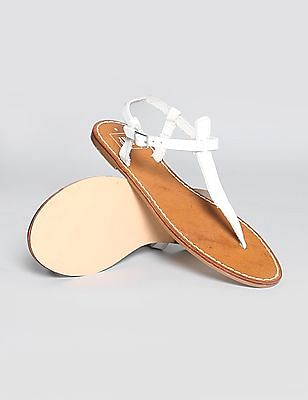 GAP T-strap leather sandals