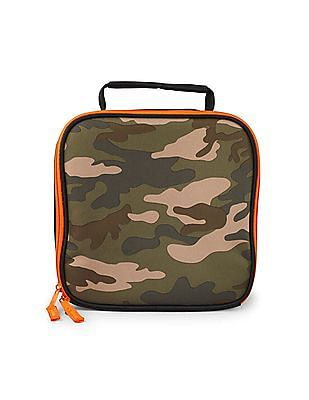 The Children's Place Boys Camouflage Print Lunch Box