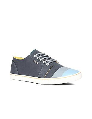 Flying Machine Colour Blocked Canvas Sneakers