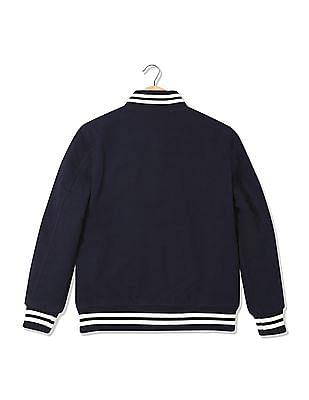 Arrow Sports Regular Fit Varsity Jacket