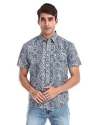 Aeropostale Short Sleeve Printed Shirt