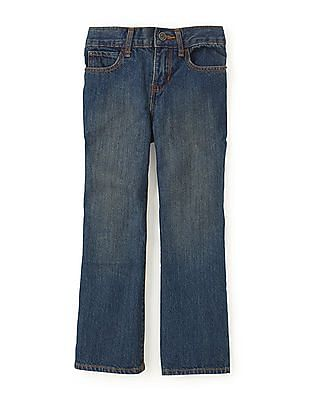 The Children's Place Boys Boot Stone Wash Jeans