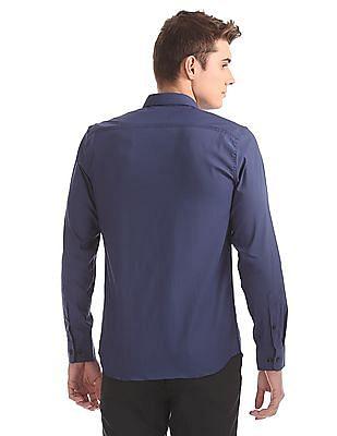 USPA Tailored Slim Fit Twill Shirt