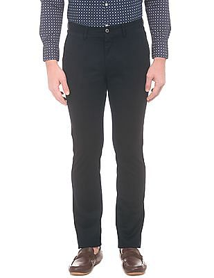 U.S. Polo Assn. Honeycomb Pattern Slim Fit Trousers