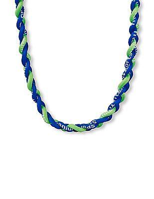 The Children's Place Boys 'Sports Titanium' Braided Necklace