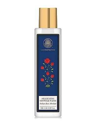 FOREST ESSENTIALS Silkening Shower Wash - Indian Rose Absolute