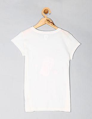 GAP Girls Metallic Graphic T-Shirt