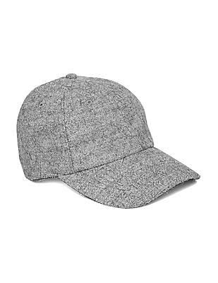 Aeropostale Heathered Wool Blend Baseball Cap
