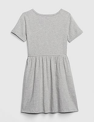 GAP Girls Logo Flippy Sequin Dress
