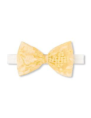 The Children's Place Girls Lace Bow Head Wrap