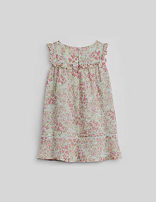GAP Toddler Girl Floral Ruffle Dress