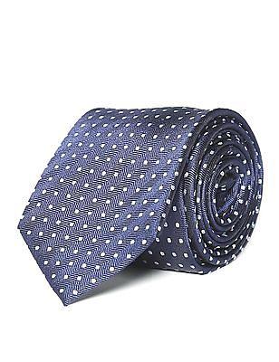 Arrow Jacquard Pattern Tie