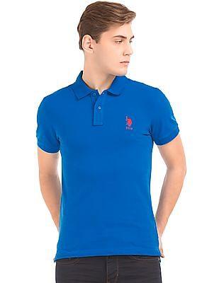 U.S. Polo Assn. Piqued Slim Fit Polo Shirt