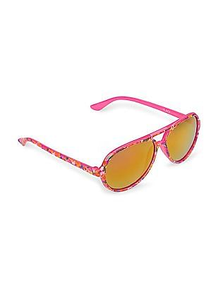 The Children's Place Girls Printed Sunglasses