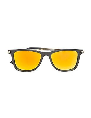 Flying Machine Reflective Lens Sunglasses