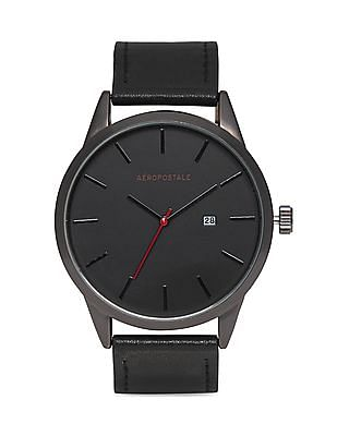 Aeropostale Stainless Steel Back Analogue Watch