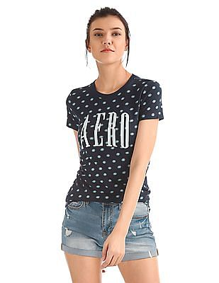 Aeropostale Regular Fit Printed T-Shirt