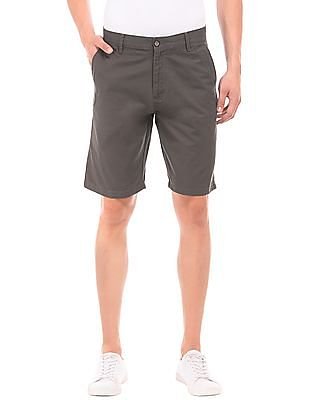 Arrow Sports Regular Fit Twill Shorts