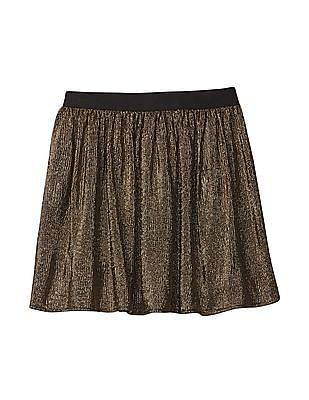 GAP Girls Shimmer Flippy Skirt