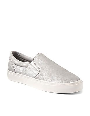 GAP Suede Slip On Sneakers