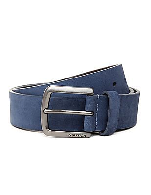 Nautica Suede Leather Belt