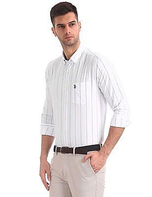 U.S. Polo Assn. Tailored Regular Fit Stripe Shirt