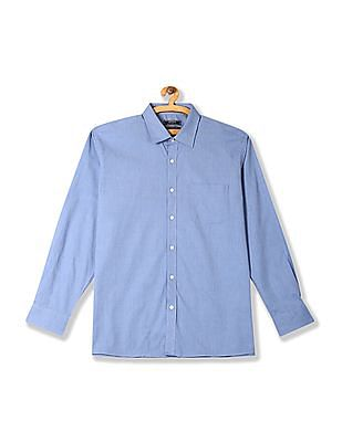 Arrow Rounded Cuff Solid Shirt