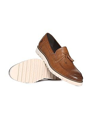 U.S. Polo Assn. Tassel Trim Perforated Loafers
