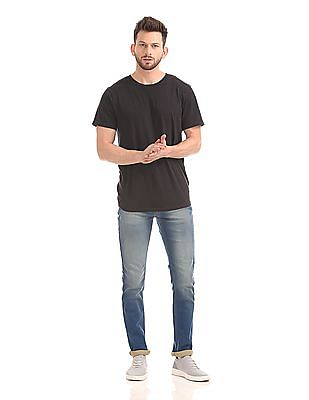 Flying Machine Michael Slim Tapered Fit Washed Jeans